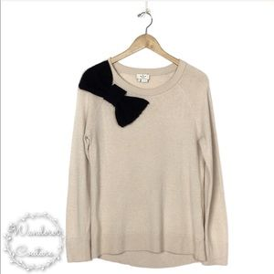 KATE SPADE Big Bow Wool Cashmere Sweater